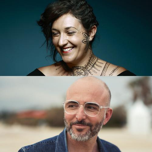 Anita Farmine et Fred Nevche