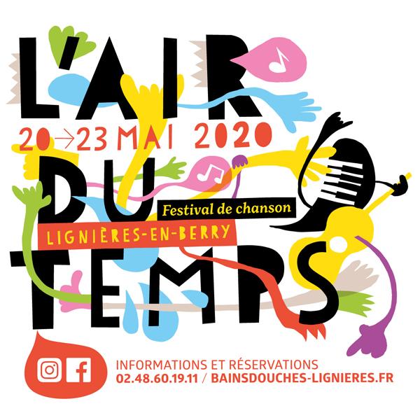Visuel festival l'Air du Temps 2020